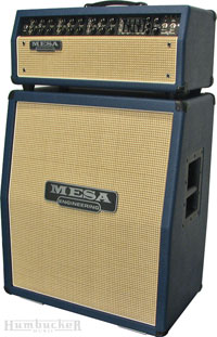 Mesa Boogie Mark V Head and Cab in Blue
