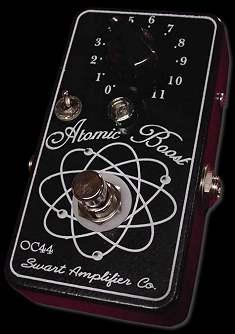 Swart Atomic Boost pedal at Humbucker Music