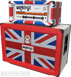 Limited Orange Union Jack Rockerverb 50MKII Head and Cab