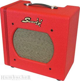 Swart STR in Custom Red Tolex at Humbucker Music