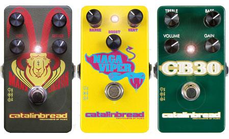 New Catalinbread pedals at Humbucker Music