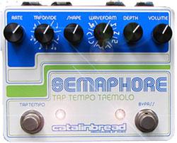 Catalinbread Semaphore Tap Tempo Tremolo pedal at Humbucker Music