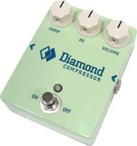 Diamond Compressor in Surf Green at Humbucker Music