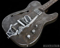 Trussart Deluxe Steelcaster w/ B16 Bigsby at Humbucker Music