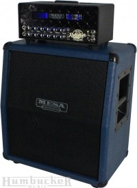 Mesa Boogie Mini Rectifier Head and Cab in Custom Blue at Humbucker Music