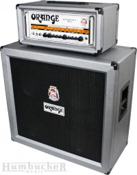 Orange RK50H MKII and PPC412 in Quantum Silver at Humbucker Music