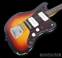 Nash JM-63 Jazzmaster in 3 Tone Sunburst at Humbucker Music