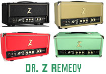 Dr. Z Remedy Amps at Humbucker Music